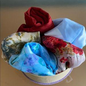 Bundle of 5 Spring Scarves